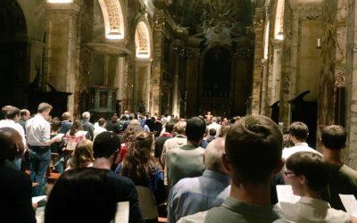 Clôture du synode : soirée avec les jeunes français