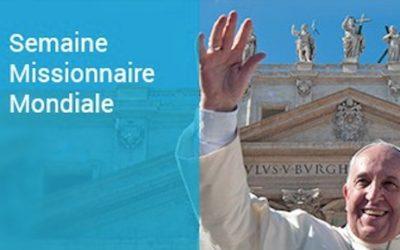 Journée Mondiale de la Mission : «Avec les jeunes, portons l'Evangile à tous !»