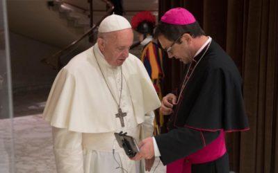 Quelques mots du Pape François pour les jeunes